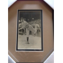 Lefty Grove Framed Photo and Signature Presentation