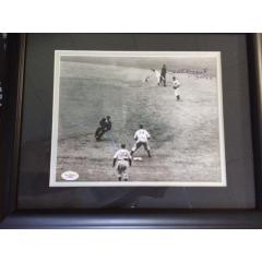 Phil Rizzuto Signed Print - Framed
