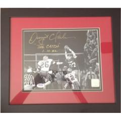 "Dwight Clark Signed ""The Catch"" Photo"