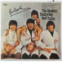 Paul McCartney Signed Butcher Album Cover