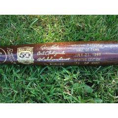 Hall of Fame 50th Anniversary Commemorative Bat