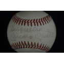 Mickey Mantle Signed and Inscribed Baseball