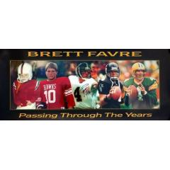 Brett Favre Autographed Framed Presentation