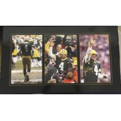 "Signed & Inscribed ""Favre Farewell"" Photo Presentation"