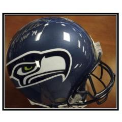 Walter Jones Signed Seahawks Helmet