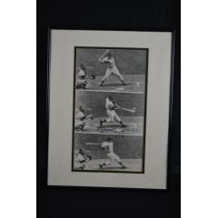 RARE - Mickey Mantle Signed Photo in No. 6 Jersey