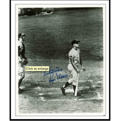 Roger Maris Signed & Inscribed 61st Home Run Framed Photo