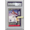 Derek Jeter PreRookie Signed Card