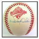 Derek Jeter Signed 1996 World Series Baseball