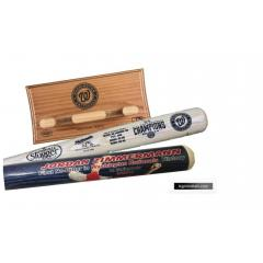 Nationals No HItter & Division Champs 2 Bat Set with FREE Display