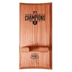 SF Giants Custom World Series Logo Bat Rack