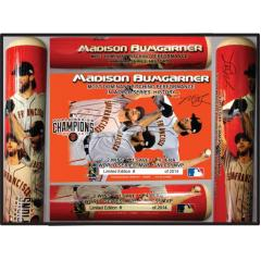 Madison Bumgarner World Series MVP Photo Bat