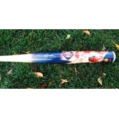 Jimmy Rollins Signed Phillies Hit King Photo Bat