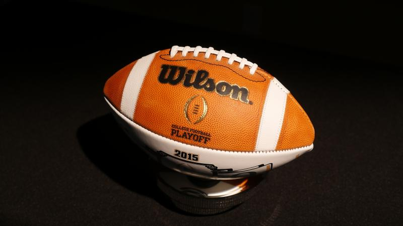 college football championship game time football teams in the playoffs