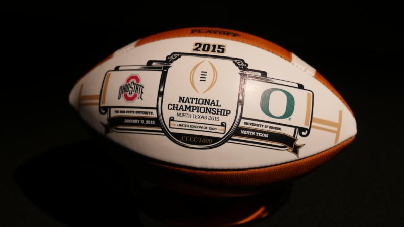 college football ball college football playoff picture