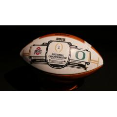 1st EVER - College Football Playoff National Championship Game Ball