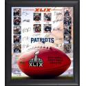 Patriots Super Bowl Champs Framed Photo Collage