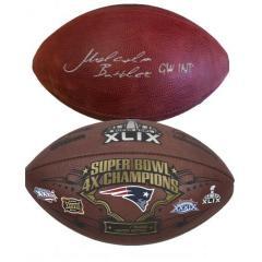 Malcolm Butler Super Bowl Ball Signing