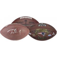 Tom Brady Signed Super Bowl XLIX Game Ball