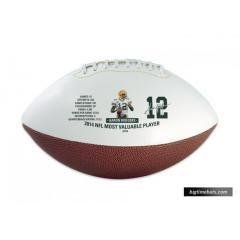 Aaron Rodgers Commemorative MVP Football