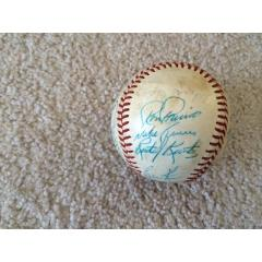 1980 Chicago White Sox Team Signed Baseball