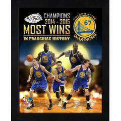 Warriors 2015 NBA Champions Commemorative Art Canvas