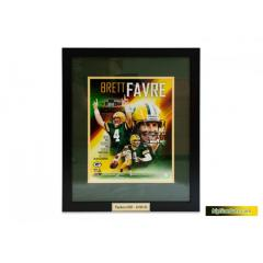 Brett Favre Framed Photo Presentation