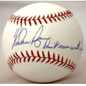 Nolan Ryan Signed & Inscribed Baseball