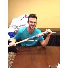 Kris Bryant Autographed Cubs Debut Photo Bat