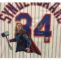 Noah Syndergaard Hand Painted Jersey by Al Sorenson