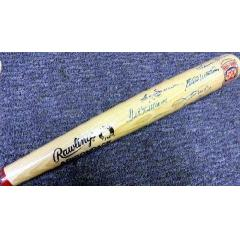 500 HR Club - 10 Autographs - One Bat