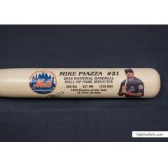 Mike Piazza Hall of Fame Commemorative Bat