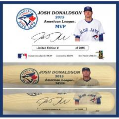 Josh Donaldson 2015 AL MVP Commemorative Bat