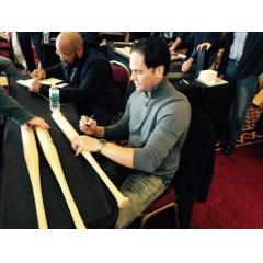 Mike Piazza Autographed Hall of Fame Commemorative Bat