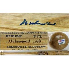 Muhammad Ali Signed Louisville Slugger Pro Model Bat