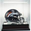 Denver Broncos Super Bowl 50 Champs Mini Helmet and Display Case