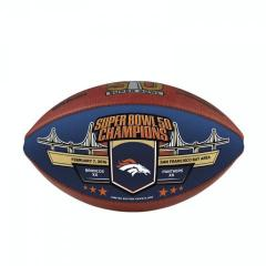 Broncos Super Bowl 50 Champions Special Color Panel Football