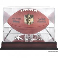 Broncos Super Bowl 50 Champions Custom Football Display Case