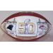 White Panel Super Bowl 50 Football