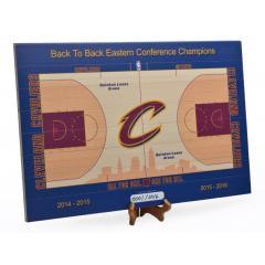Cavaliers Quicken Loan Arena Mini Court in 1/60th Scale