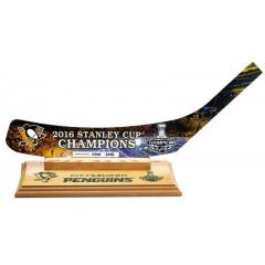 Pittsburgh Penguins Stanley Cup Champions Stick Blade