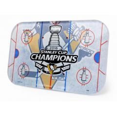 Penguins 4 Time Stanley Cup Champs Mini Rink