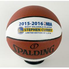 Steph Curry Back To Back MVP Commemorative Ball