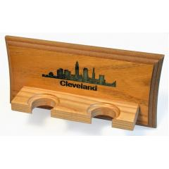 Cleveland Skyline 2 Bat Display Rack