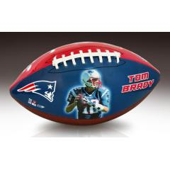 Tom Brady 5x Super Bowl Champion Commemorative Football