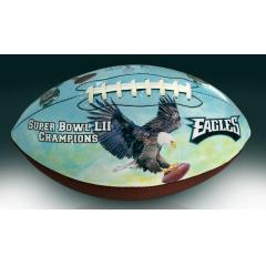 Eagles Super Bowl LII Champs Commemorative Art Football
