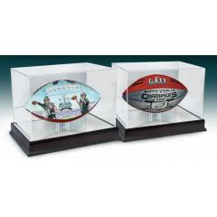 Eagles Super Bowl LII Champs Two Ball Set with Display Cases