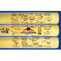 Red Sox 2018 World Series Champions Team Signature Bat