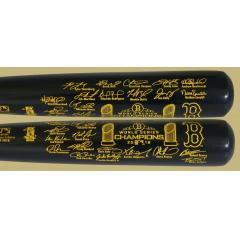Red Sox World Series Champions Louisville Slugger Team Signature Bat