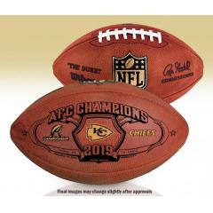 Chiefs First Ever AFC Championship Wilson Duke Game Ball